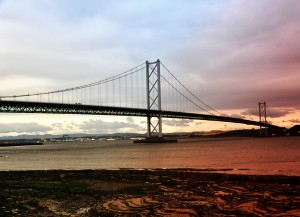 South Queensferry - The Forth Road Bridge