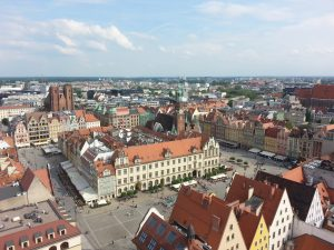 Overview of Wroclaw (From the Garrison Church Tower)