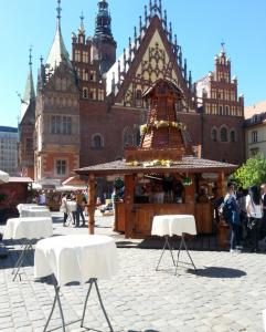 Swietojanski Market Wroclaw