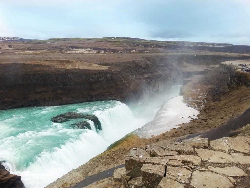 Golden circle waterfalls