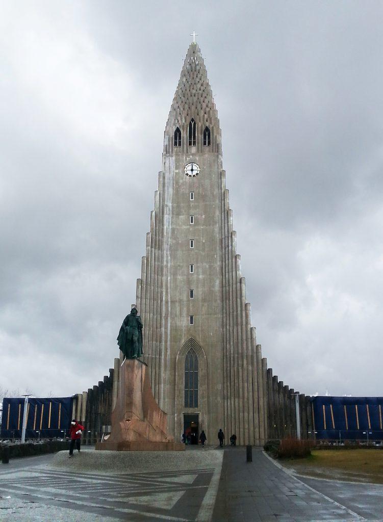 Reykjavik, Hallgrímskirkja church