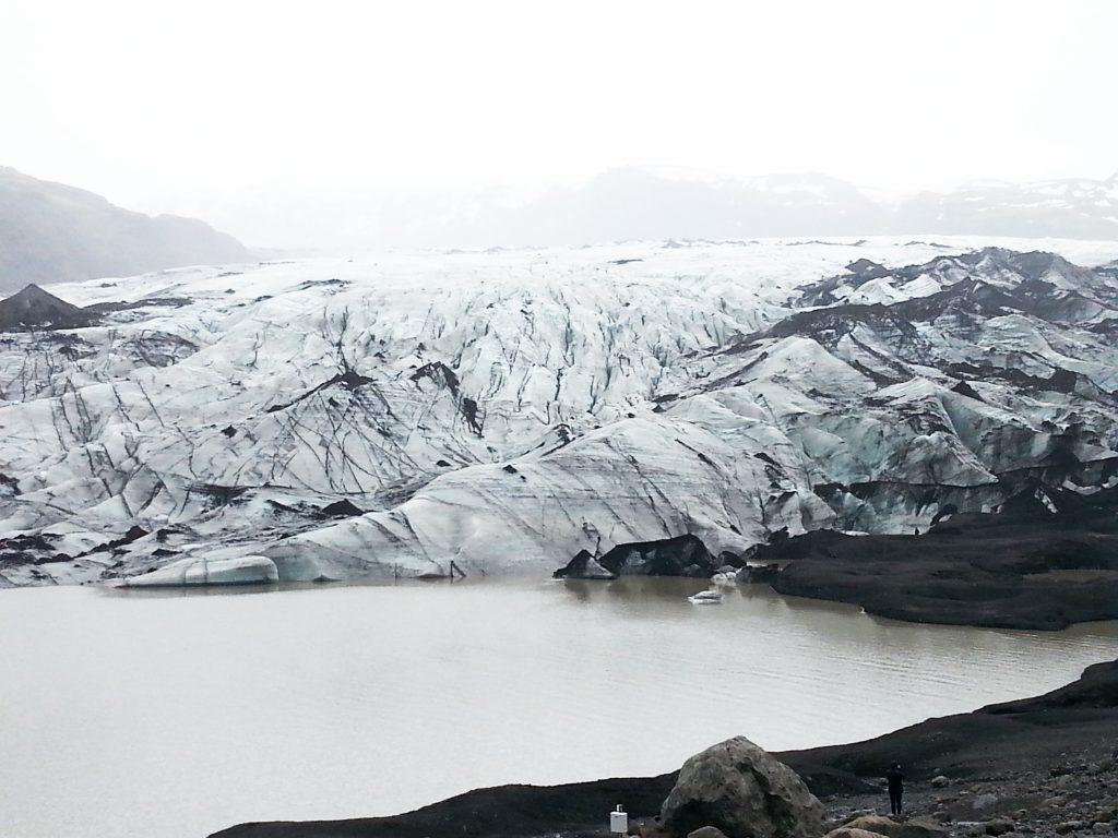 Iceland, the Sólheimajökull Glacier