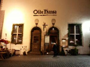 Olde Hansa Restaurant, Tallinn, Estonia