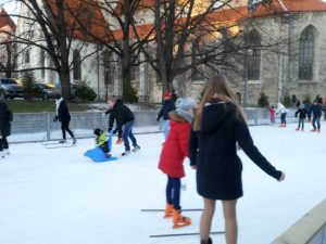 Tallinn - ice skating rink
