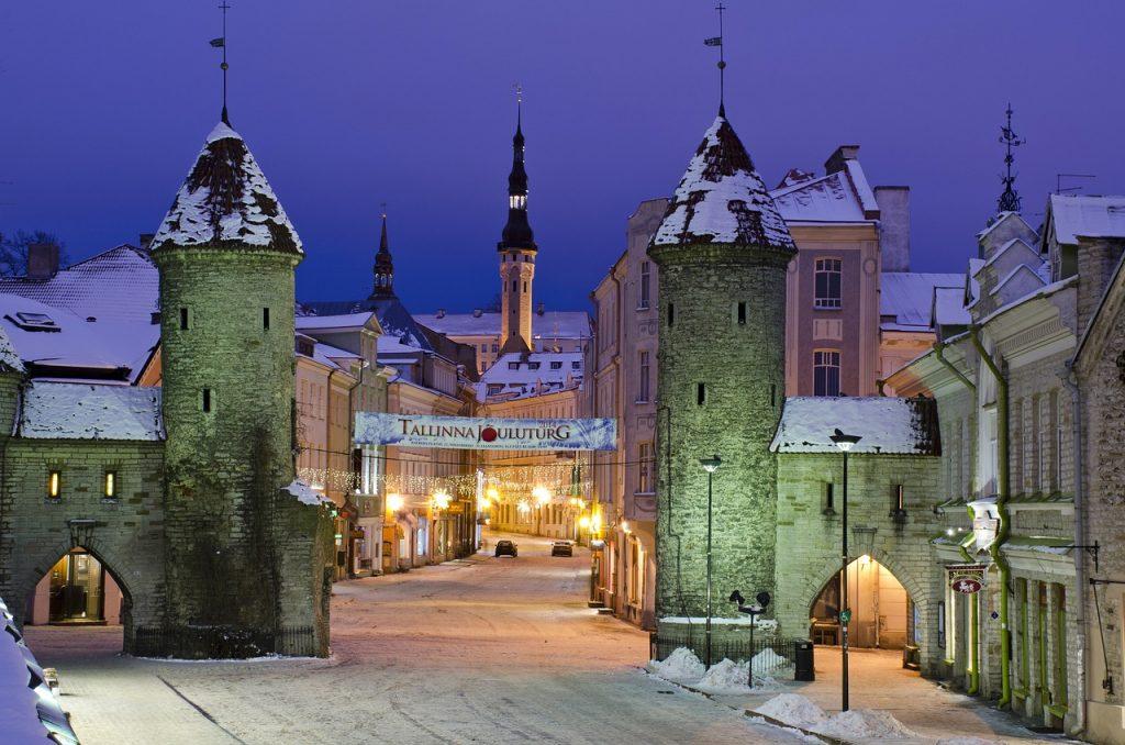 Tallinn Old Town Gate