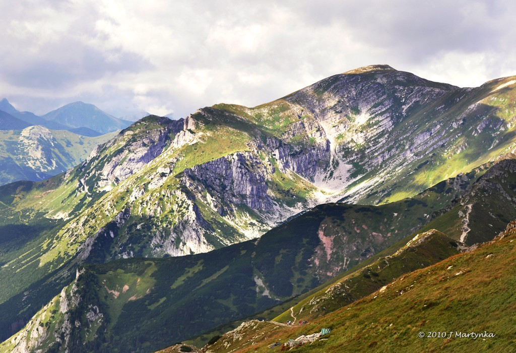 Tatra Mountains - View from Kasprowy Wierch