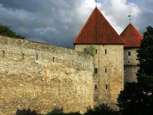Tallinn Castle walls